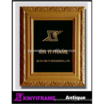 Wall decoration hand three-dimensional carving wooden photo frame