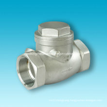 Lost Wax Cast Stainless Steel 304 Check Valves