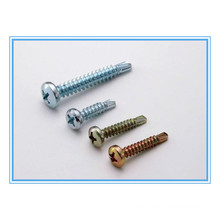 Zinc Plated Cross Pan Head Self Drilling Screw (DIN7504N)
