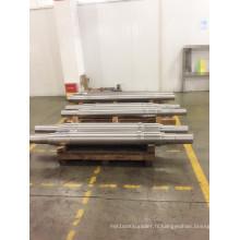 Arbres de forgeage en acier de grand diamètre adaptés aux besoins du client