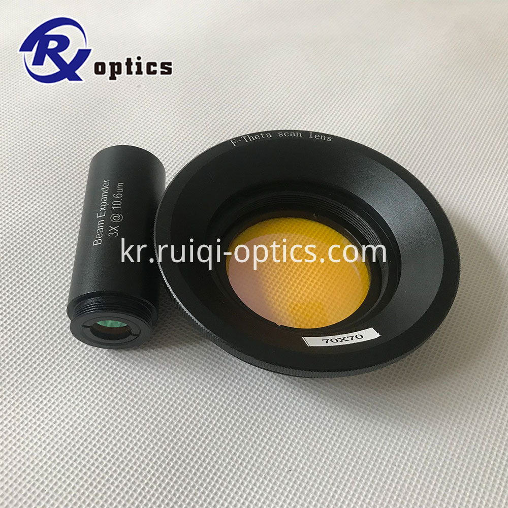Telecentric Scan Lenses for 10.6um Laser