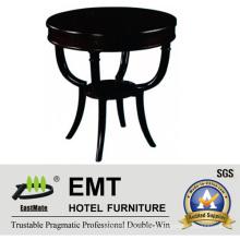 Table à café en bois massif de laque à piano perfectionnée de design le plus luxueux (EMT-CT10)