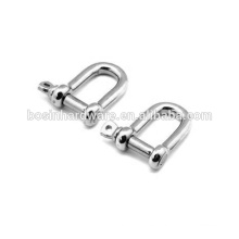 Calidad duradera acero inoxidable 3MM Shackle 316