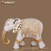 figura elegante del elefante del tamaño elegante del diseño elegante de la alta calidad para la decoración casera