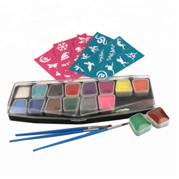 Ansiktsmåleri Hypoallergena billiga Party Face Paint Kit