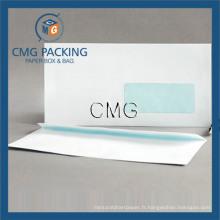 White Window Self Seal Pocket Envelope