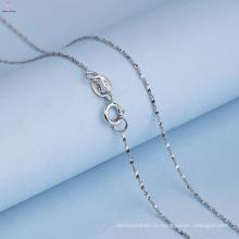 Красивая Серебряная Цепочка 925 Шаблоны Ожерелье Для Девочки