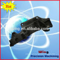 motor part casting body with painting