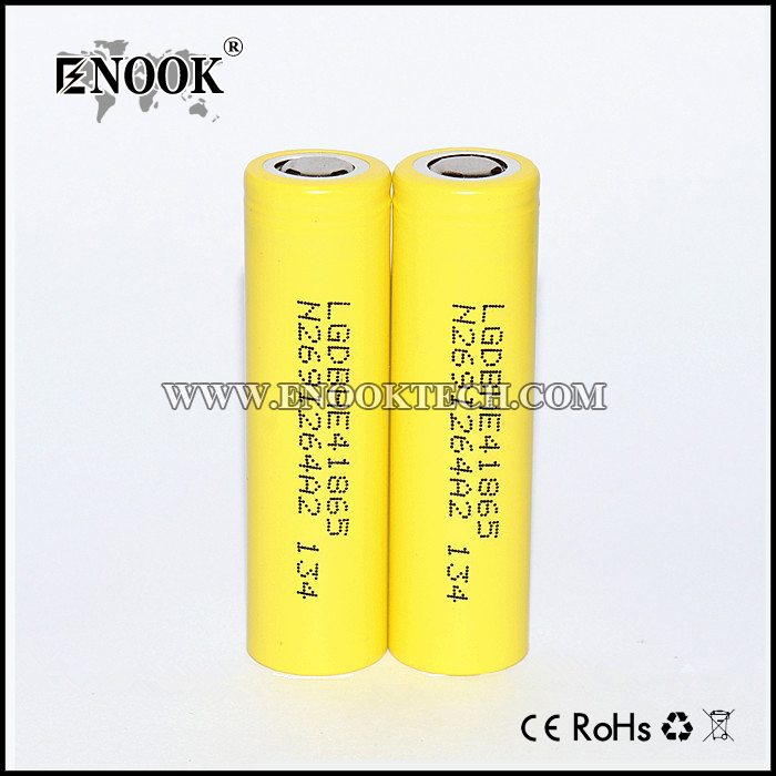 LG HE4 2500mah Rechargeable 18650