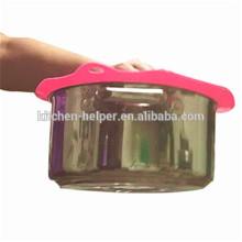 Neues Produkt Silikon Schüssel Abdeckung / Silikon Topf Deckel Set / Silikon Topf Deckel