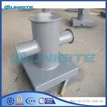 Steel mooring steel bollard