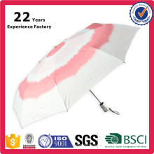 Fashion Automatic 3 Foldable Korean Corporate Gifts Rose Umbrella For Sexy Ladies Advertisement