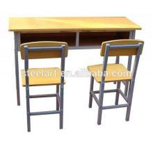 Matériel en métal et meubles commerciaux Utilisation générale table et chaise en métal