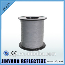 hi viz double coated industrial reflective thread for waving