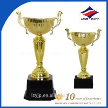 Souvenir awards hot sales metal gold plated trophy