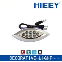 Lámpara LED de marcado lateral lámpara de chapado lámpara de luz de placa luz decorativa con 3 hilos