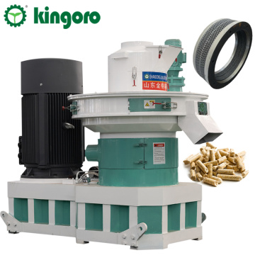 1-1.5 t/h Waste Wood Fiber Pellet Making Machine