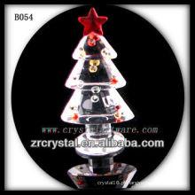 K9 árvore de natal de cristal