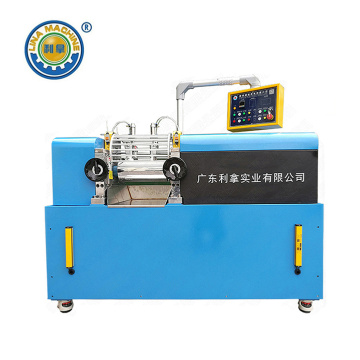 Chinese Professional for Small Size Two Roll Open Mill, Lab Rubber Open Mixing Mill, Lab Plastic Open Mixing Mill Supplier in China Two Roll Mill with Pneumatic Blocking Plate supply to Japan Supplier