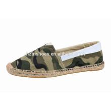Chaussures de toile à espadrille hommes confortables