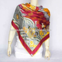 ladies silk shawl for autumn promotion