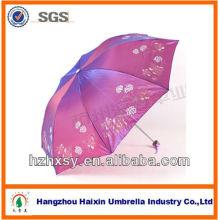 """Paraguas del parasol de la tela del camaleón de 23 """"8K para la impresión de la marca"""