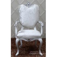 Cadeira barroca grossista com braço / cadeira de jantar barroca