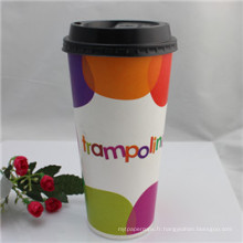 Tasse de café en papier jetable populaire de conception de la Chine
