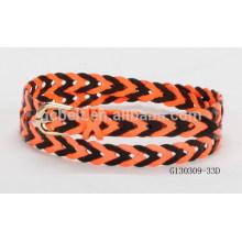 Woman 2.0cm fashion colorful braided PU belt