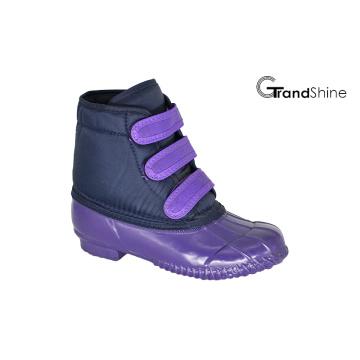 Anckle baixo Inverno neve botas