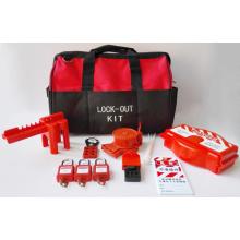 Marcado CE fuerte kit de bloqueo de válvula anti-resistente