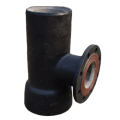 Ductile Iron  Socket Spigot Tee With Flanged Branch