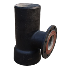 High Quality Industrial Factory for Ductile Iron Equal Tee DI  Socket Spigot Tee With Flanged Branch export to Eritrea Factories