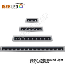 Controle de DMX de luz subterrânea de LED de tira longa