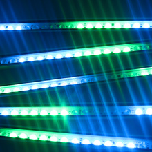 CE ROHS Ip67 24 v 24 W UCS2903 smd 5050 RGB luz impermeable al aire libre llevó la luz del lavado de la pared
