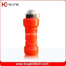 Plastik-Sport-Wasser-Flasche, Plastik-Sport-Wasser-Flasche, 750ml Plastik-Getränk-Flasche (KL-6735)