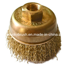 Non-Sparking and Corrosion Resistance Knot Wire Cup Brush (YY-311)