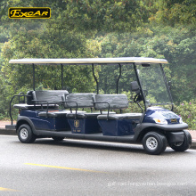 11 seater Trojan battery electric golf cart electric sightseeing car tour bus
