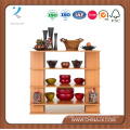 4′ Wide Wooden Alone Gift Display Stand