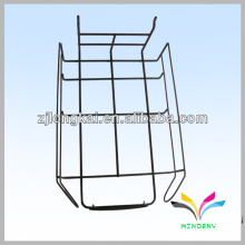 Gridwall black manufacture made wire display shelf