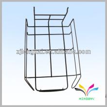 Fabricação preta de Gridwall fabricada prateleira de exibição de fio