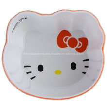 Two Tone Melamine Kids Bowl with Logo (BW7128)