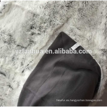 chaqueta de piel visón real manta mullida piel genuina manta