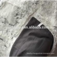 faux fur throw mink royal fluffy blanket genuine fur blanket