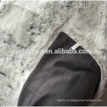 искусственный мех бросить одеяло натурального меха норки королевской пушистым одеялом