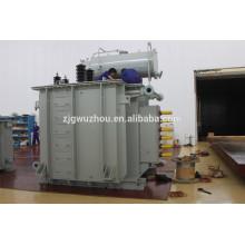 7500kVA monofásico transformador de forno de arco de 20kv em Irã