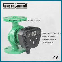 Ahorro de energía bomba de agua bomba de circulación con puertos con bridas para HVAC