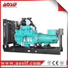 China 800kw / 1000kva verwendet Generator schalldichte KTA38-G2A Diesel-Generator