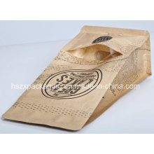 4-Side Sealing Packaging Snack Food Coffee Paper Bag
