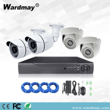 4CH Security 1MP Starlight IP Kamera Sistem Poe